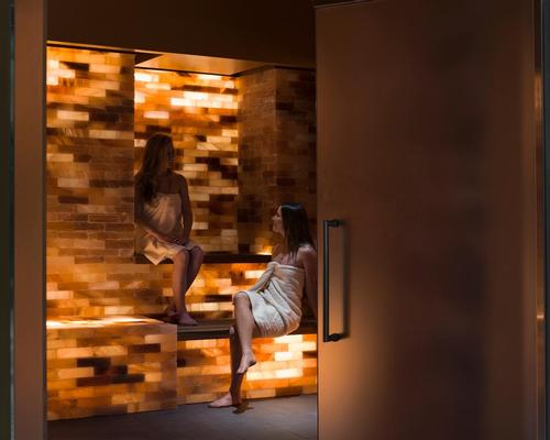 The spa contains a new salt grotto with a Halogenerator FX from Global Halotherapy Solutions