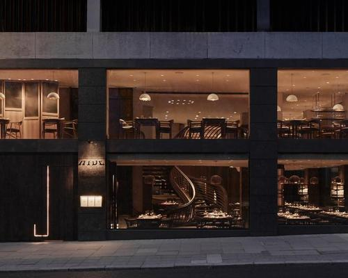 The brainchild of Michelin star chef Ollie Dabbous, Hide overlooks Mayfair's Green Park / Joakim Blockstrom