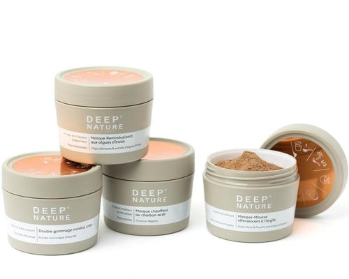 Deep Nature unveils exclusive skincare range