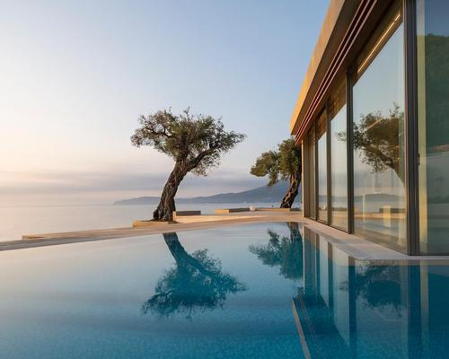 The beachfront retreat is one of a trio of Domes Resorts in Greece, and currently features a boutique spa, with plans for a larger one in the future