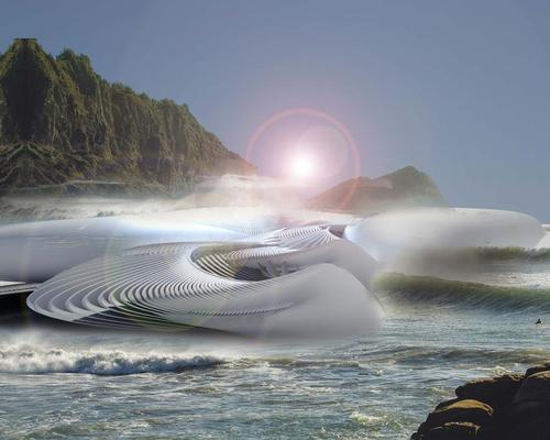 Harmonic Turbine Tidal Hotel to make waves with tidal energy focus in China