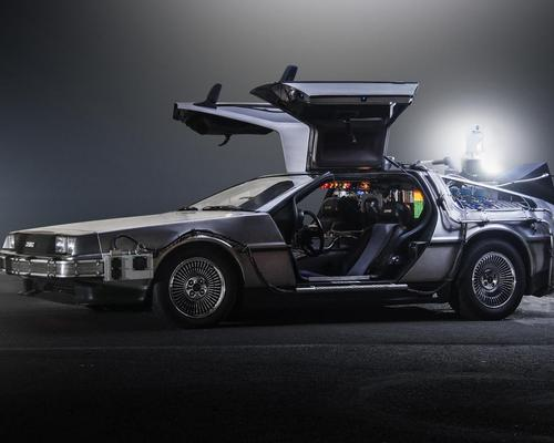 Visitors to Decades of Wheels can see Back to the Future's DeLorean time machine