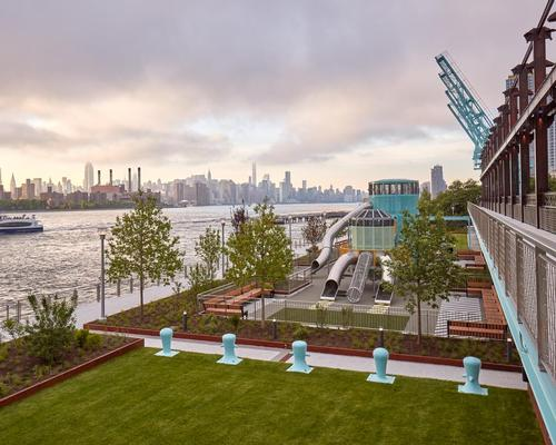 With landscaping designed by James Corner Field Operations and a street extension conceived by Shop Architects, the project aims to keep true to the site's heritage