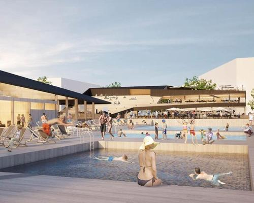 Finnish architects Oopeaa have won a competition to design and create floating sea pools for public use in coastal cities and towns around the world
