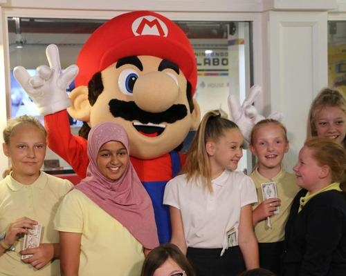 KidZania teams up with Nintendo for London Labo experience