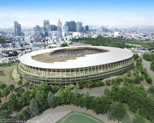 Kuma has designed the new Tokyo Olympic stadium