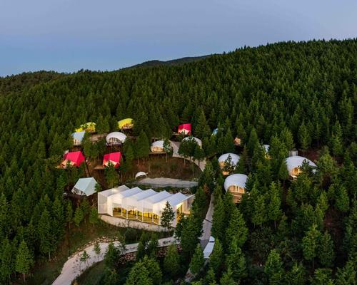 Atelier Chang provide pods for South Korean 'minimalist luxury' glamping resort