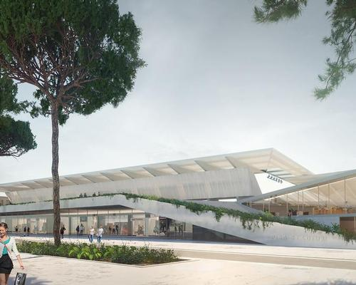 New Pisa stadium will establish 'strong synergies with its context', says architect Paolo Iotti