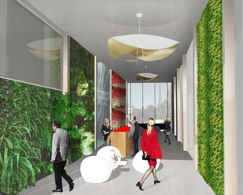 "The concept for this hotel integrates an aquaponic system for a ""fully self-sufficient experience"""