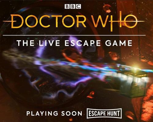 Escape Room to launch Doctor Who escape rooms across the UK
