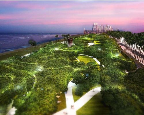 The park project is in conjunction with Eighty Seven Park and being led by landscape architecture firm West 8