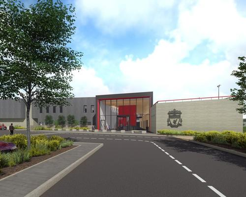 The 9,200sq m training centre will create a combined first team and U23 academy facility