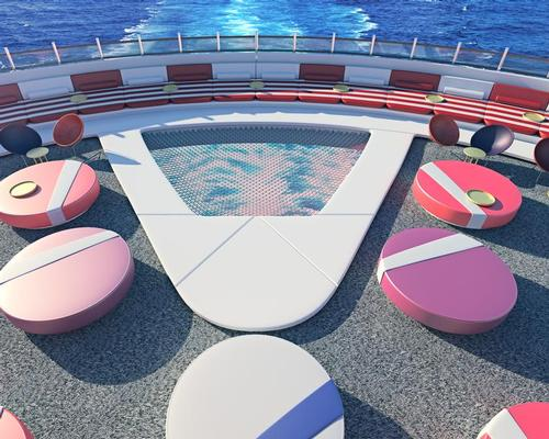 Renderings from the latest Sir Richard Branson project, Virgin Voyages (a rebrand of the former Virgin Cruises), show a heavy wellness focus in its public areas.