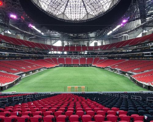 Incredible Mercedes-Benz stadium roof revealed