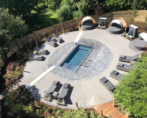 The Zen Garden is part of a £3m refurbishment programme undertaken since 2012
