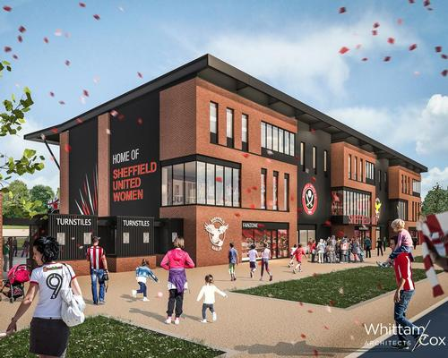 The £5m, 3,900-capacity stadium is set to become the new home of Sheffield United Women Football Club