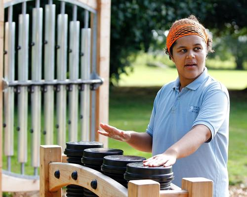 Acoustic Arts creates dynamic outdoor play areas with new line of kinetic instruments