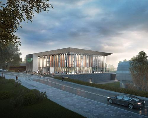 FaulknerBrowns to create 'iconic sports building' for University of Stirling