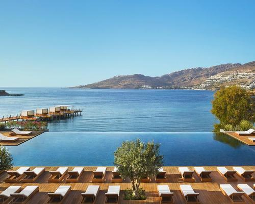 Bodrum Edition opens with two types of hammam