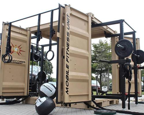 EXF becomes exclusive European manufacturer and UK distributor for Mobile Fitness Equipment