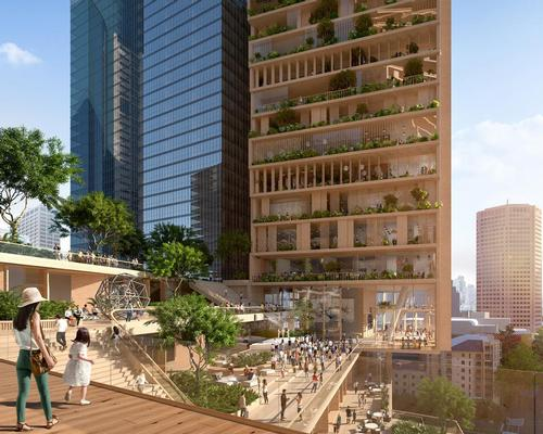 The competition has been won by an innovative two-tower design, which will consist of vertically networked platforms, terraces and verandas.