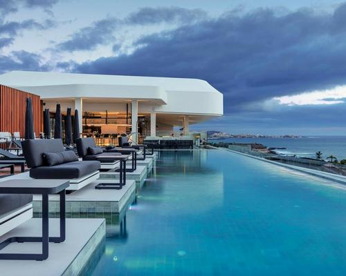 A new luxury resort on the Spanish Canary Island of Tenerife is home to a 1,000sq m (10,764sq ft) spa