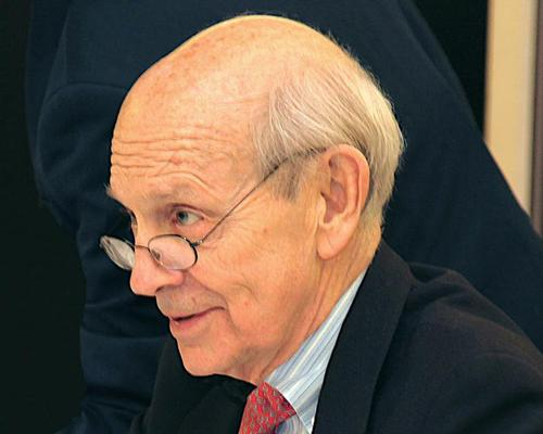 Justice Stephen Breyer, who has been a member of the Jury since 2011, has been named as the new chair