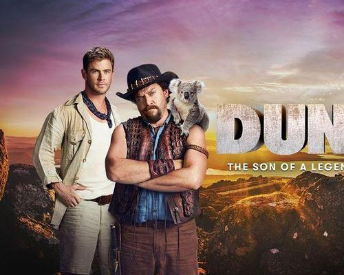 The uplift has been credited to a series of fictional trailers for the Crocodile Dundee movie franchise, featuring US comedy actor Danny McBride