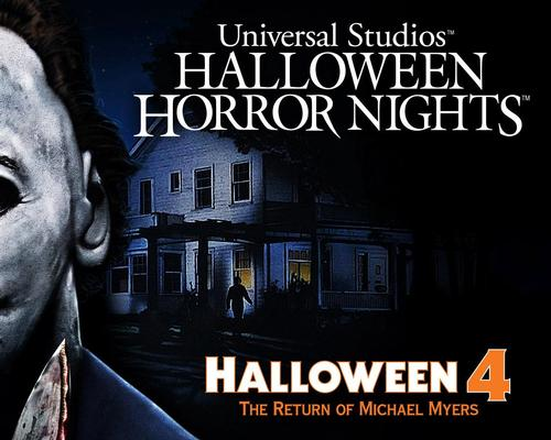 Universal Studios set for the 'Return of Michael Myers'