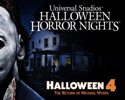 Universal Studios set for the 'Return of Michael Myers'
