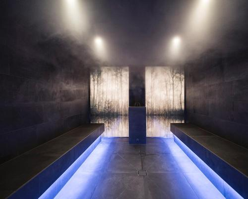 The hotel features a wellness area replete with a sauna  / Alex Filz