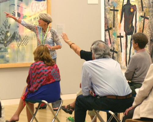 Art Rx offers people suffering from chronic pain special tours, which are proving to be very beneficial in terms of pain relief / Crocker Art Museum