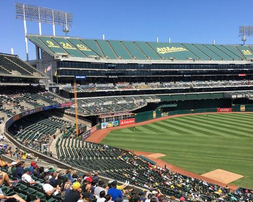 The new stadium will replace the Oakland A's existing 51-year-old Oakland-Alameda County Coliseum. / Fastily