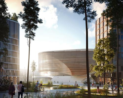 Bergen City has ambitious plans for itself as a Unesco World Heritage Site and, in response, 3XN has created an equally bold masterplan that makes a new arena the of epicentre it. / 3XN