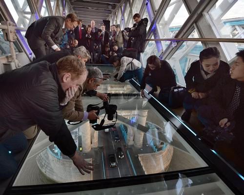 The new addition is part of a long-term strategy to develop and improve Tower Bridge's visitor experience – in 2015 a glass walkway was installed