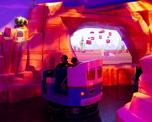 Warner Bros World Abu Dhabi opens Ani-Mayhem dark ride with interactive elements created by Alterface