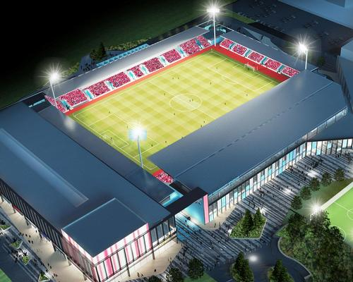 York Community Stadium on schedule for 2019 opening
