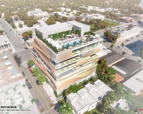 Gensler's Gwyneth Paltrow-backed West Hollywood Arts Club receives planning approval