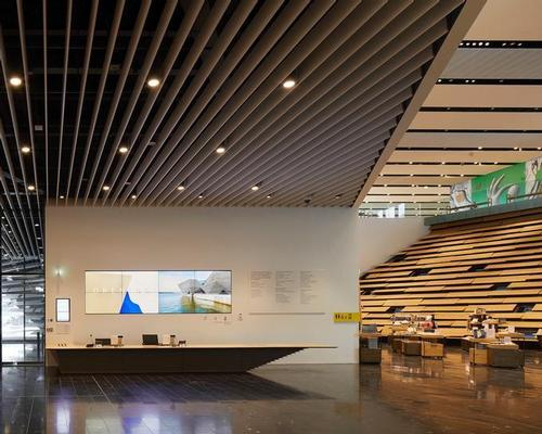 V&A Dundee Interior / V&A Dundee/ Hufton +Crow