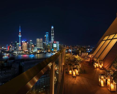 The roof of the Shanghai EDITION / courtesy of Shanghai EDITION