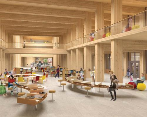 Asia's largest wooden building will rise in Singapore