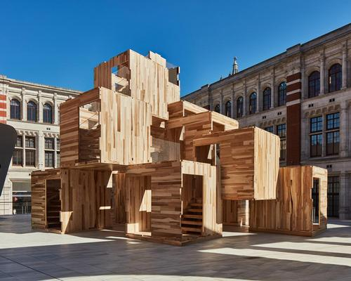 Three-storey maze inside V&A's Sackler Courtyard spreads sustainability message