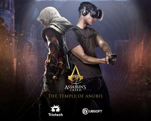 Triotech launches long-awaited Assassin's Creed free roaming VR experience