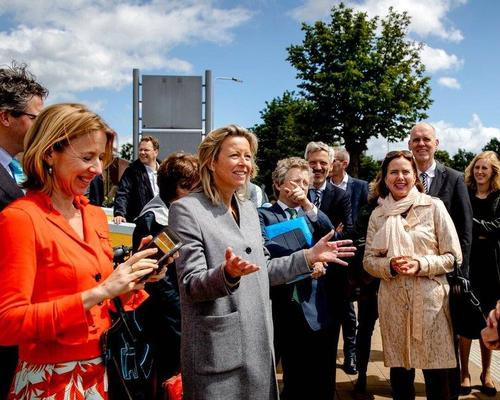 Dutch ministers visited the site in June