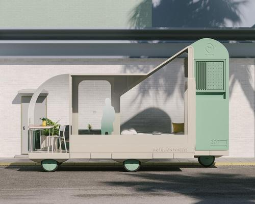 Hotel on Wheels / courtesy of Space10