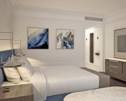 Delos will help to transform 10 per cent of Wyndham's hotel rooms into Stay Well Rooms