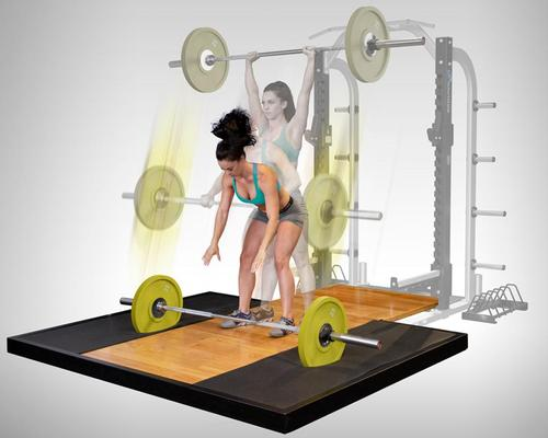 The Nautilus ® SVA platform is designed to combat noise pollution in gyms