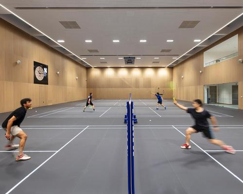 Britain's first illuminated smart floor installed at Oxford University sports centre