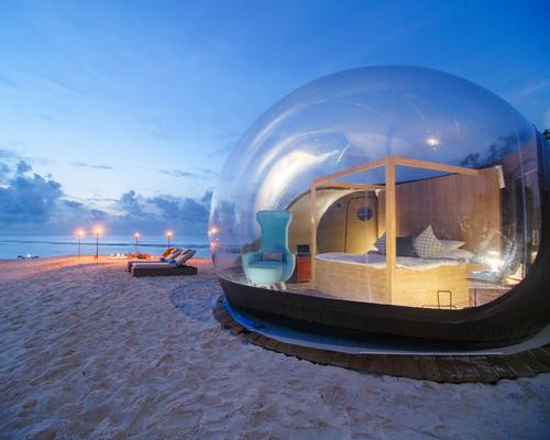 New Beach Bubble tent offers 'uniquely immersive nature experience'