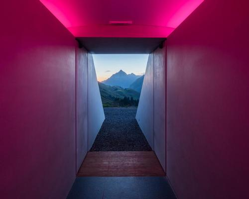 James Turrell's newest Skyspace rises in the mountains of Austria